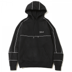 Piping Pullover Hooded (Black)