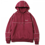 Piping Pullover Hooded (Maroon)