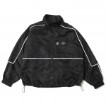 Nylon Piping JKT (Black/Black)