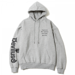 Sold My Soul Dropshoulder Pullover Hooded (Gray)