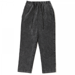 Corduroy Strings Pants  (Black)
