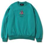 Sacred Heart Dropshoulder Crewneck (Teal Green)