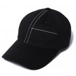 Stitch Cap(Black)