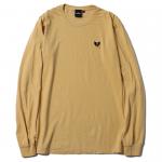 Heartaches L/S T-shirts (Mustard)