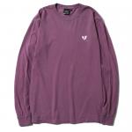 Heartaches L/S T-shirts (Berry)