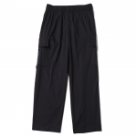 Nylon Cargo Pants (Black)