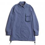 D-21 Nylon Shirts (Dull Blue)