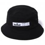Patch Bucket Hat(Black)
