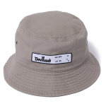 Patch Bucket Hat(Khaki)<img class='new_mark_img2' src='https://img.shop-pro.jp/img/new/icons53.gif' style='border:none;display:inline;margin:0px;padding:0px;width:auto;' />