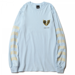 Liner Heart L/S T-shirts(Light Blue)<img class='new_mark_img2' src='https://img.shop-pro.jp/img/new/icons53.gif' style='border:none;display:inline;margin:0px;padding:0px;width:auto;' />