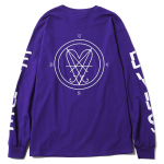 Symbol L/S T-shirts(Purple)<img class='new_mark_img2' src='https://img.shop-pro.jp/img/new/icons53.gif' style='border:none;display:inline;margin:0px;padding:0px;width:auto;' />