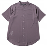 Stand Color Shirts(Plum4)