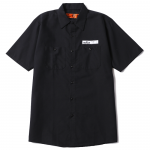 Patch Work Shirts(Black)