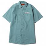 Patch Work Shirts(Light Green)