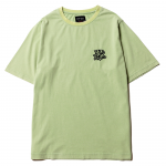 Scrap Logo Stone Wash  T-shirts(Sea Green)