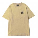 Scrap Logo Stone Wash  T-shirts(Sand)