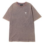 Heartaches Stone Wash T-shirts(Plum)
