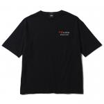 Hate Nothing Big T-shirts(Black)