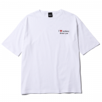Hate Nothing Big T-shirts(White)