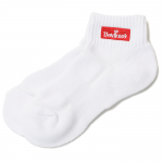GWL  BOX LOGO  Short Socks(White×Red)