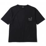 Liner Heart T-shirts(Black)