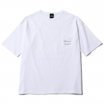 Liner Heart T-shirts(White)