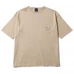 Liner Heart T-shirts(Sand)