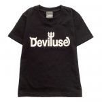 Kids Logo T-shirts(Black)