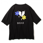 Heartaches Plants Big T-shirts(Black)