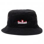 Burning Logo Bucket Hat(Black)