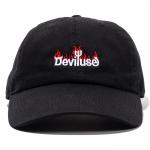 Burning Logo Cap(Black)
