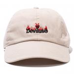 Burning Logo Cap(Putty)