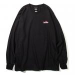 Burning Logo L/S T-shirts(Black)