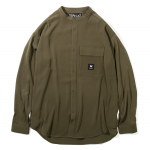 Stand Color Shirts(Olive)