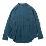 Stand Color Shirts(Blue)
