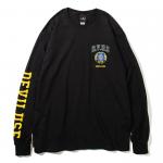 DVUS College L/S T-shirts(Black)