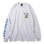 DVUS College L/S T-shirts(Gray)
