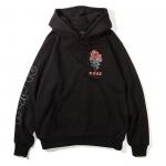 Bloom Pullover Hooded(Black)