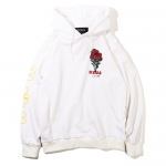 Bloom Pullover Hooded(White)