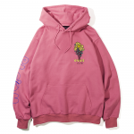 Bloom Pullover Hooded(Rose)