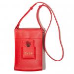 Leather Shoulder Bag(Red)