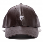Leather Cap(Brown)
