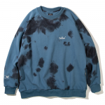 Small Logo Tie Dye Crewneck(Blue)<img class='new_mark_img2' src='https://img.shop-pro.jp/img/new/icons5.gif' style='border:none;display:inline;margin:0px;padding:0px;width:auto;' />