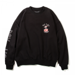 Not Today Crewneck(Black)<img class='new_mark_img2' src='https://img.shop-pro.jp/img/new/icons5.gif' style='border:none;display:inline;margin:0px;padding:0px;width:auto;' />