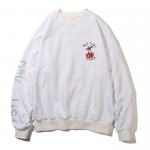 Not Today Crewneck(White)<img class='new_mark_img2' src='https://img.shop-pro.jp/img/new/icons5.gif' style='border:none;display:inline;margin:0px;padding:0px;width:auto;' />