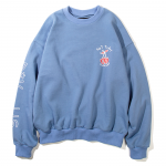Not Today Crewneck(Mid Blue)<img class='new_mark_img2' src='https://img.shop-pro.jp/img/new/icons5.gif' style='border:none;display:inline;margin:0px;padding:0px;width:auto;' />