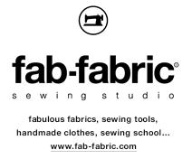 fab-fabric sewing studio | online store 布地とオリジナルパターンの通販