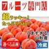 【送料別・選べる品種】山形県産白桃たっぷり5kg!(18〜20玉入)【冷蔵便】