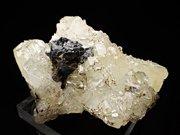 メキシコ産ダトーライト、スファレライト&キャルコパイライト (Datolite, Sphalerite & Chalcopyrite / Mexico)