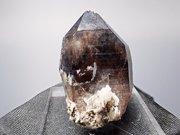 岐阜県蛭川田原産 煙水晶&玉滴石 (Smoky Quartz & Hyalite / Japan)
